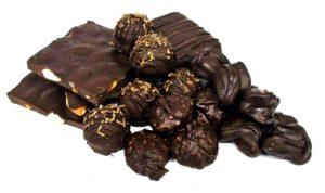 pile of assorted gourmet chocolates