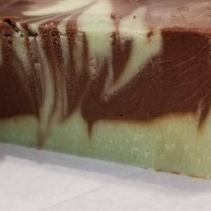 chocolate marbled fudge