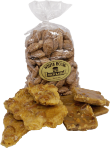 bag of White House Chocolates nut brittle