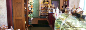 interior of White House Chocolates candy store in Middlefield